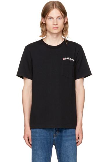 Wacko Maria - Black 'Tokyo' Oversized T-Shirt