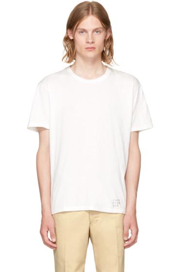 Wacko Maria - White Lee Perry T-Shirt