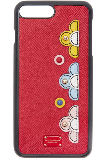 Dolce & Gabbana - Red Flower iPhone 7 Plus Case