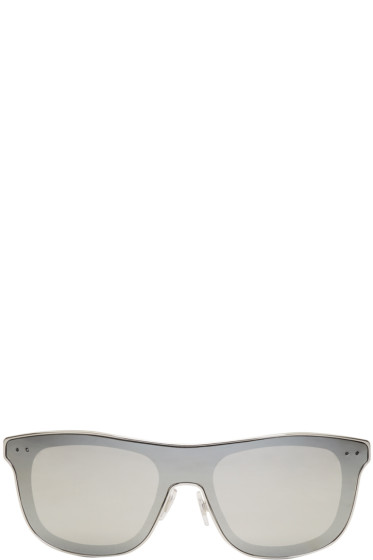 Dolce & Gabbana - Silver Square Sunglasses
