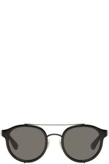 Dolce & Gabbana - Black Top Bar Sunglasses