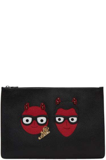 Dolce & Gabbana - Black Devil Designers Pouch