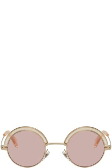 Oliver Peoples pour Alain Mikli - Gold & Pink 4003N Sunglasses