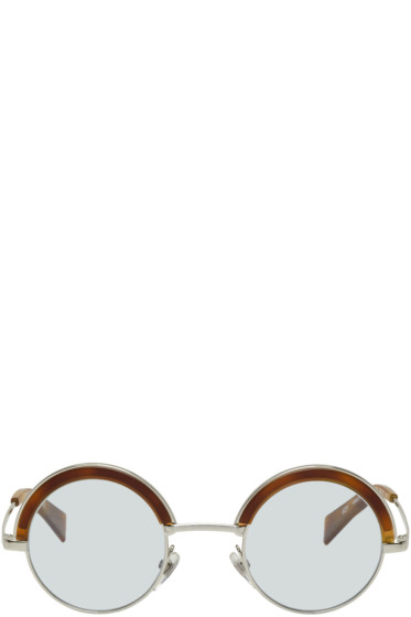 Oliver Peoples pour Alain Mikli - Silver & Blue 4003N Sunglasses