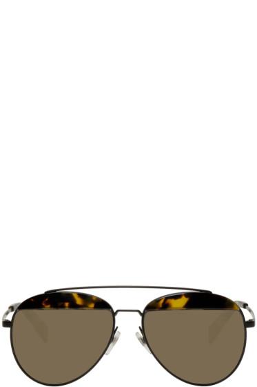 Oliver Peoples pour Alain Mikli - Black Paon Aviator Sunglasses