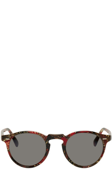 Oliver Peoples pour Alain Mikli - Red Gregory Peck Sunglasses
