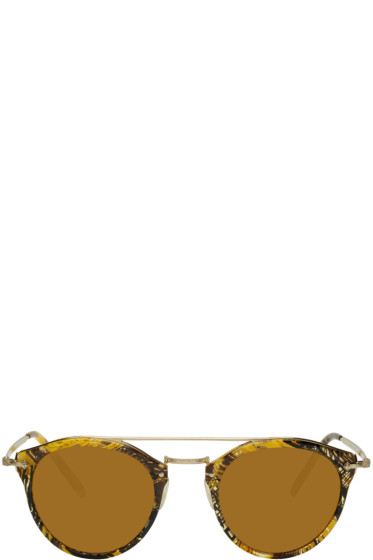 Oliver Peoples pour Alain Mikli - Gold Remick Sunglasses