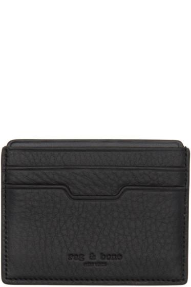 Rag & Bone - Black Leather Card Holder
