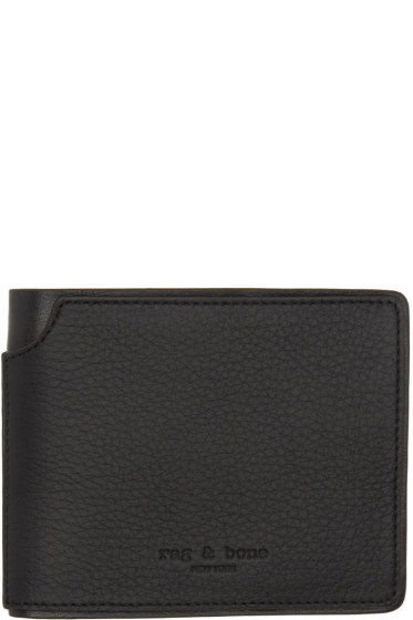 Rag & Bone - Black Bifold Wallet