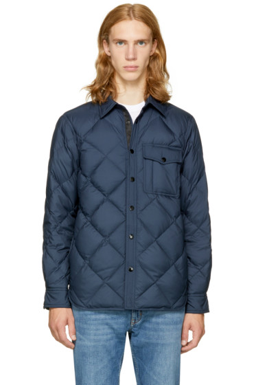 Rag & Bone - Navy Mallory Shirt Jacket