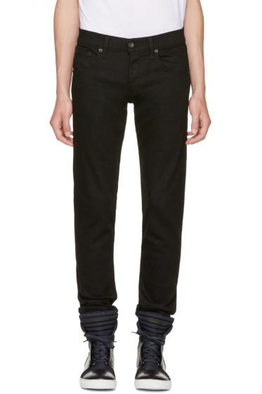 Rag & Bone - Black Fit 1 BK Jeans