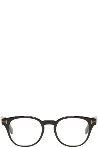 Tom Ford - Black Soft Square Glasses