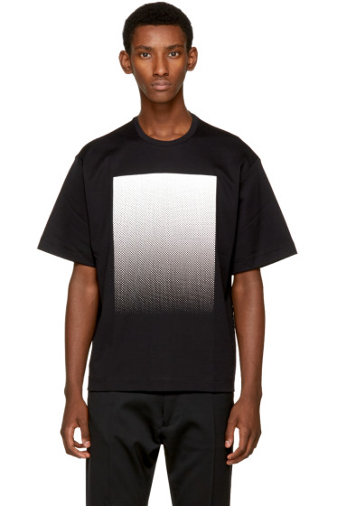 Diesel Black Gold - Black Square T-Shirt