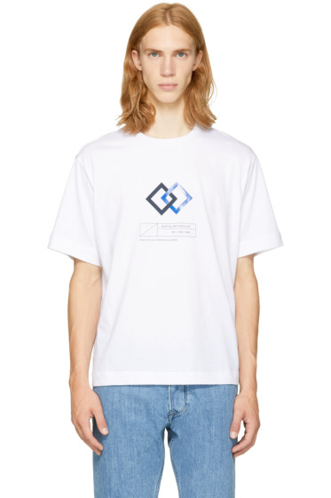 Diesel Black Gold - White 'Martial Arts' T-Shirt