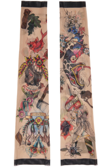 Dsquared2 - Multicolor Tattoo Sleeves