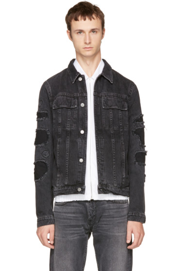 Helmut Lang - Black Mr 87 Denim Jacket