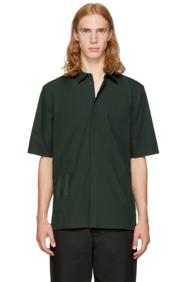 Helmut Lang - Green Bar Tab Shirt