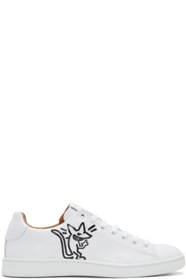 Marc Jacobs - White Stinky Rat Sneakers