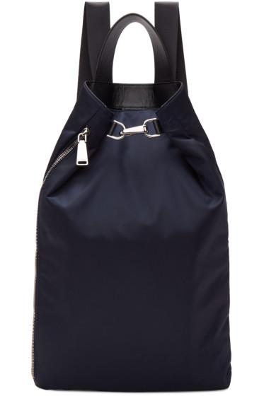 Jil Sander - Navy Nylon Backpack
