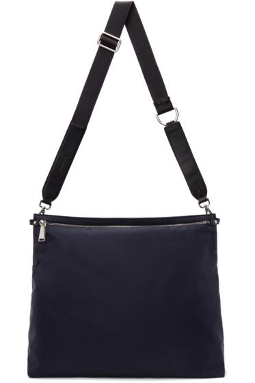 Jil Sander - Navy Nylon Messenger Bag