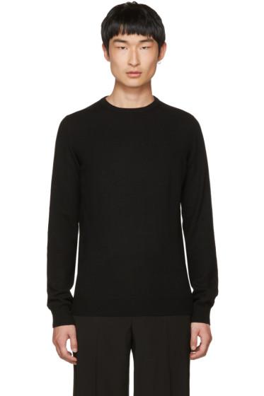 Jil Sander - Black Cashmere Crewneck Sweater