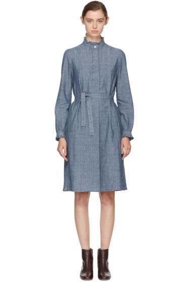 A.P.C. - Indigo Astor Dress