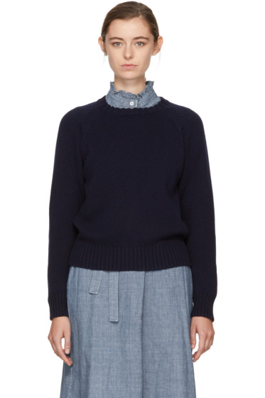 A.P.C. - Navy Stirling Sweater