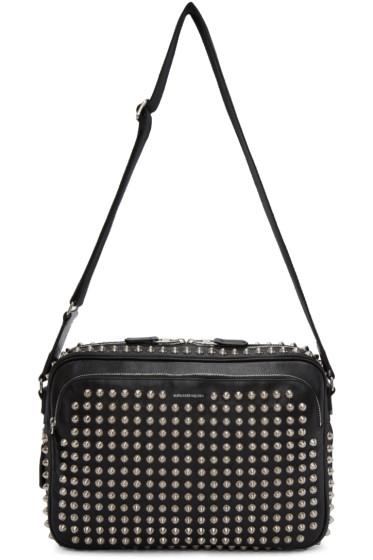 Alexander McQueen - Black Studded Camera Bag