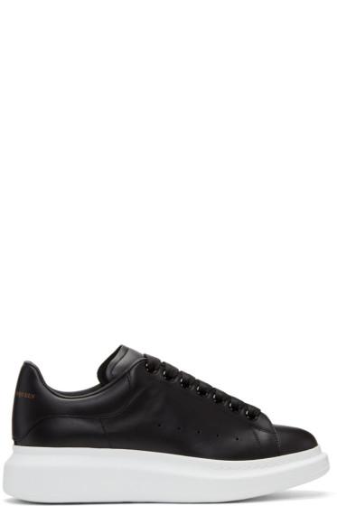 Alexander McQueen - Black & White Oversized Sneakers