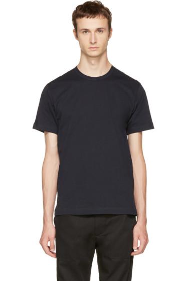 Comme des Garçons Shirt - Navy Basic T-Shirt