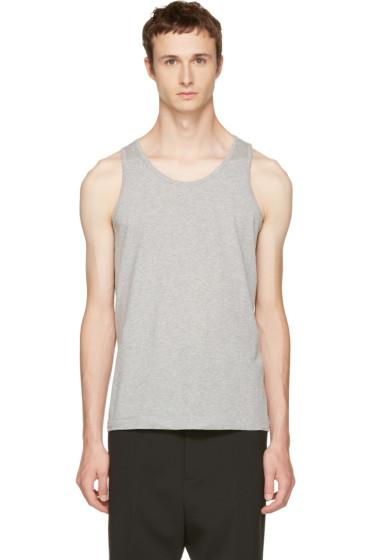 Comme des Garçons Shirt - Grey Basic Tank Top
