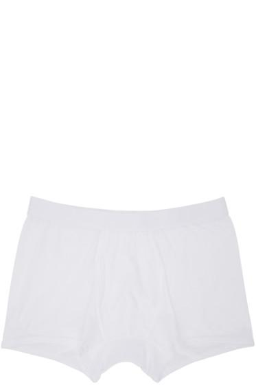 Comme des Garçons Shirt - White Basic Boxer Briefs