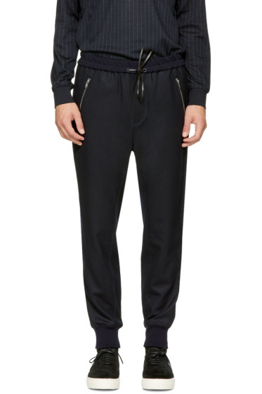 3.1 Phillip Lim - Navy Tapered Lounge Pants
