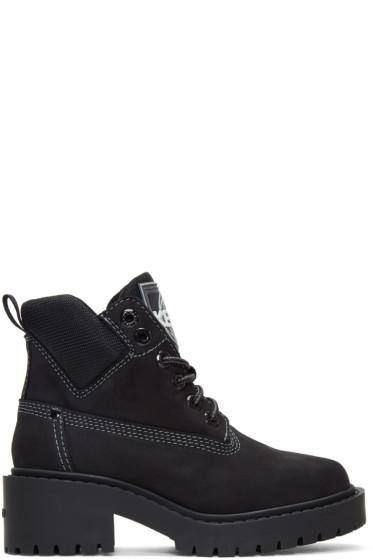 Kenzo - Black Suede Sierra Boots