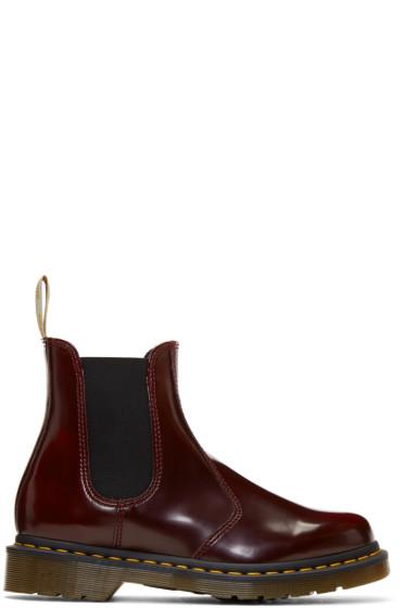Dr. Martens - Red Vegan 2976 Chelsea Boots