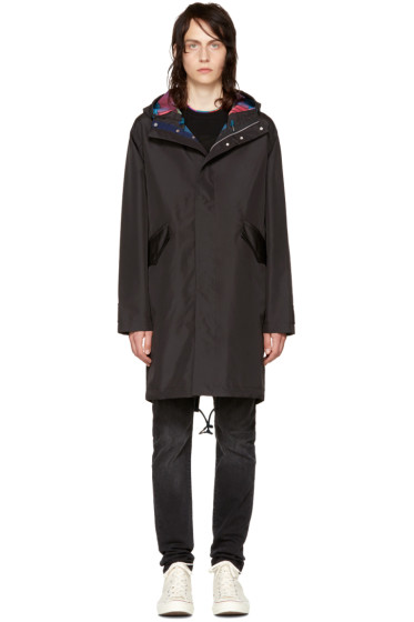PS by Paul Smith - Black Hooded Parka