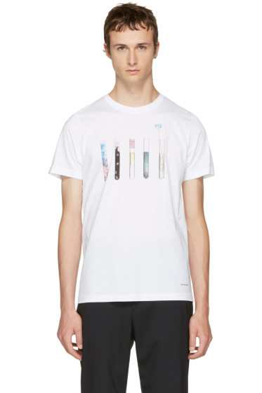 PS by Paul Smith - White Test Tube T-Shirt