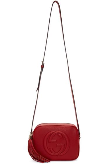 Gucci - Red Small Soho Camera Bag