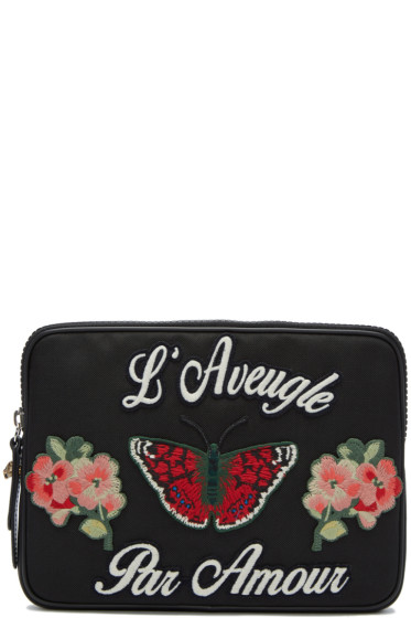 Gucci - Black 'L'Aveugle Par Amour' Pouch