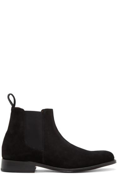 Grenson - Black Suede Declan Boots