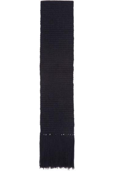 Stella McCartney - Navy Knit Scarf