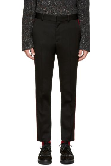 Stella McCartney - Black Contrast Stripe Trousers