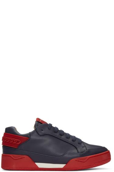 Stella McCartney - Navy Cord Sneakers