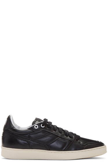 AMI Alexandre Mattiussi - Black Leather Sneakers