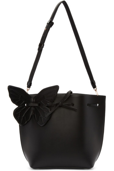 Sophia Webster - Black Remi Butterfly Bucket Bag
