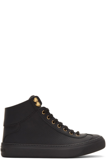 Jimmy Choo High Top Sneakers for Men | SSENSE