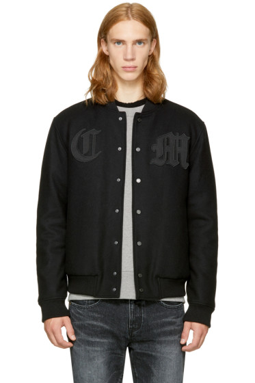 Marcelo Burlon County of Milan - Black Nidawi Bomber Jacket