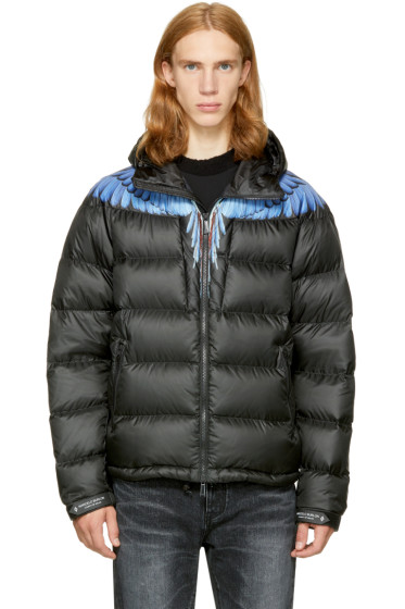 Marcelo Burlon County of Milan - Black Down Patak Jacket