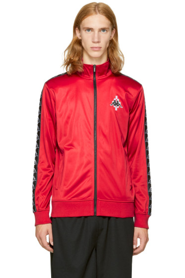 Marcelo Burlon County of Milan - Red Kappa Edition Track Jacket