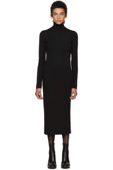 Haider Ackermann - Black Nagel Turtleneck Dress